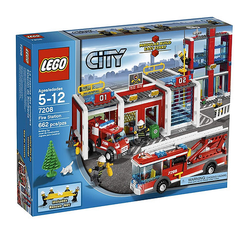 LEGO 7208 City Fire Station