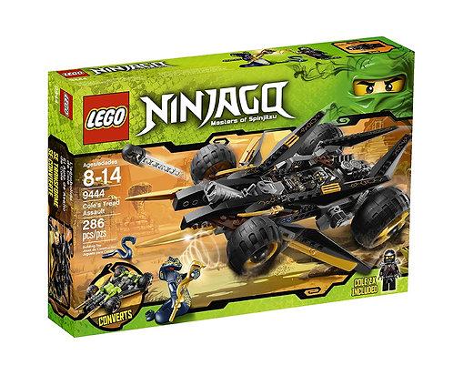 LEGO 9444 Ninjago Cole's Tread Assault