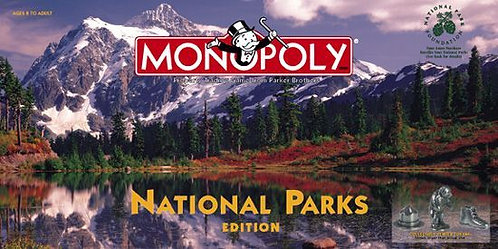 National Parks Monopoly (2001 Edition)