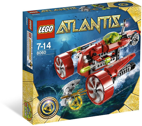 LEGO 8060 Atlantis Typhoon Turbo Sub