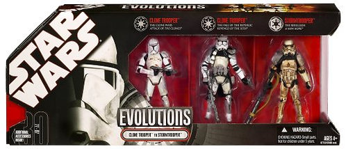Star Wars Evolutions: Clone Trooper to Stormtrooper