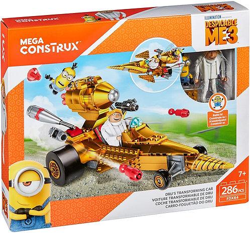 Mega Bloks Despicable Me Dru's Transforming Car
