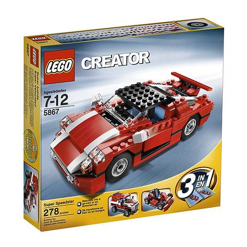 LEGO 5867 Creator Super Speedster