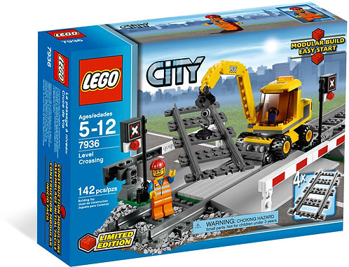 LEGO 7936 City Level Crossing