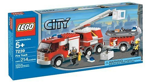 LEGO 7239 City Fire Truck