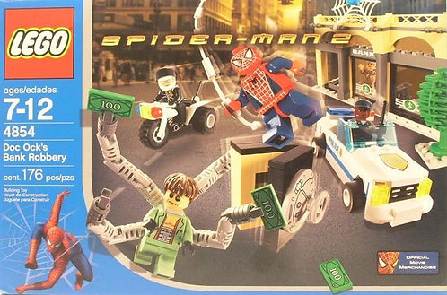 LEGO 4854 Spider-man 2 Doc Ock's Bank Robbery