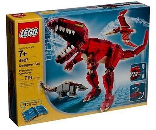 LEGO 4507 Designer Set Prehistoric Creatures