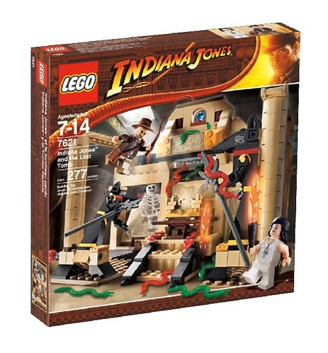 LEGO 7621 Indiana Jones and the Lost Tomb