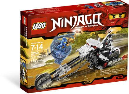 LEGO 2259 Ninjago Skull Motorbike