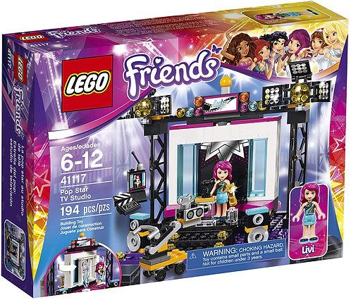 LEGO 41117 Friends Pop Star TV Studio