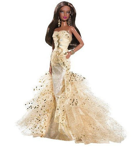 Barbie 50th Anniversary Glamour African American Doll