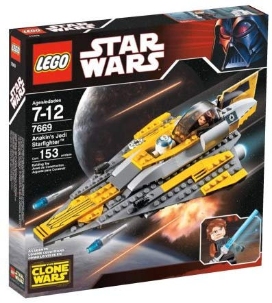 LEGO 7669 Star Wars Anakin's Jedi Starfighter (Clone Wars version)