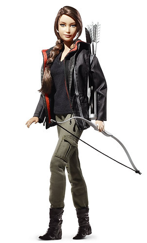 Barbie Hunger Games Katniss Black Label Doll