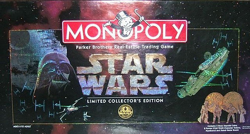 Star Wars Monopoly Limited Collector's Edition