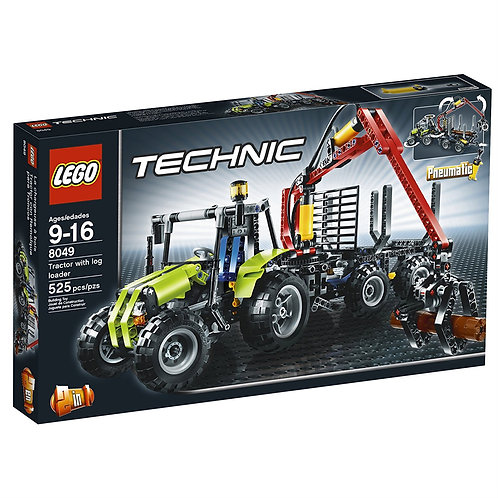 LEGO 8049 Technic Tractor with Log Loader