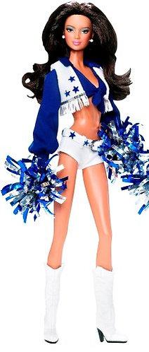 Barbie Dallas Cowboys Cheerleader Latina Pink Label Doll