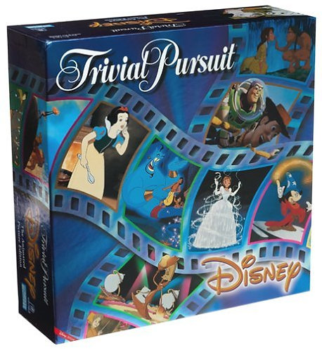 Disney Trivial Pursuit Animated Picture Edition