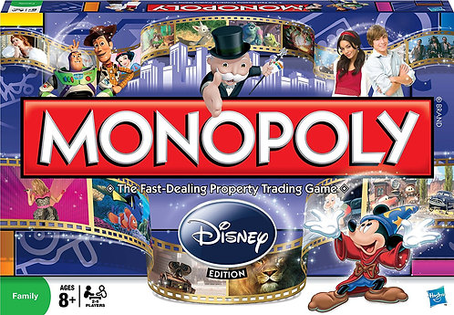 Disney Monopoly (Item #19643)
