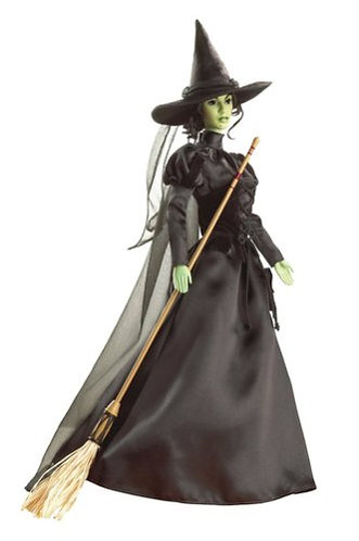 Barbie Wizard of Oz Wicked Witch of the West Pink Label Doll