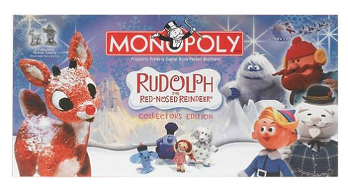 Rudolph the Red-Nosed Reindeer Monopoly Collector's Edition