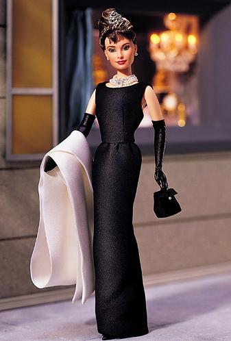 Barbie Breakfast at Tiffany's - Black Evening Gown