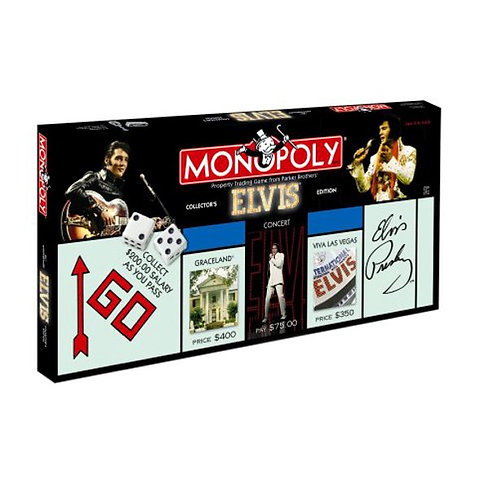 Elvis Monopoly Collector's Edition - 25th Anniversary