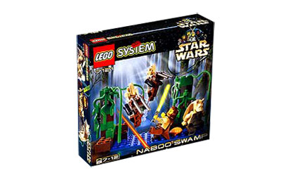 LEGO 7121 Star Wars Naboo Swamp