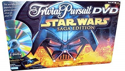 Star Wars Saga Edition Trivial Pursuit DVD Tin