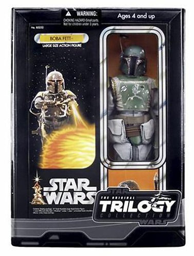 "Star Wars Original Trilogy Collection: 12"" Boba Fett - Gray Jumpsuit"