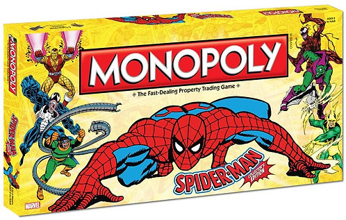 Spider-Man Monopoly Collector's Edition