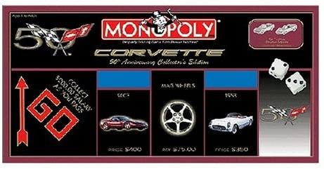 Corvette Monopoly 50th Anniversary Collector's Edition