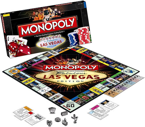 Las Vegas Monopoly Fabulous Edition