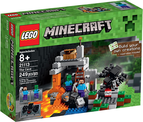 LEGO 21113 Minecraft The Cave
