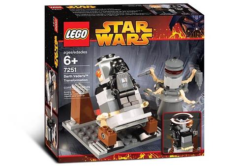 LEGO 7251 Star Wars Darth Vader Transformation