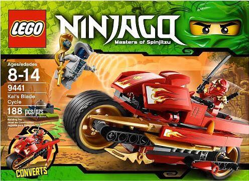 LEGO 9441 Ninjago Kai's Blade Cycle