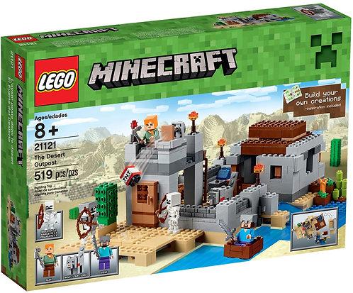 LEGO 21121 Minecraft The Desert Outpost