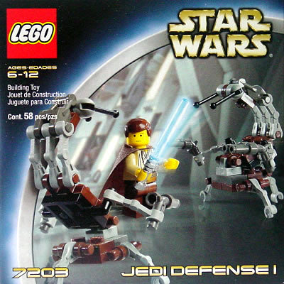 LEGO 7203 Star Wars Jedi Defense