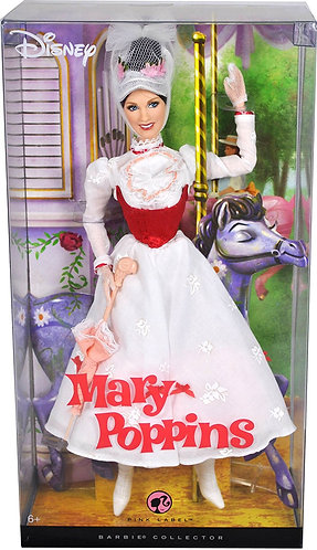 Barbie Mary Poppins Pink Label Doll