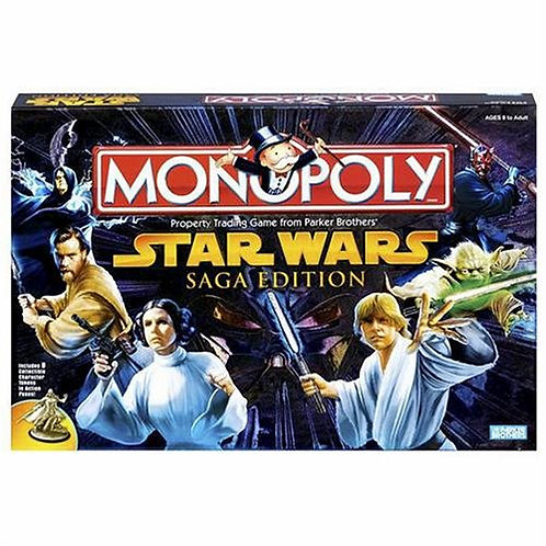 Star Wars Monopoly Saga Edition