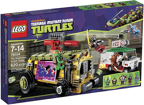LEGO 79104 Teenage Mutant Ninja Turtles The Shellraiser Street Chase