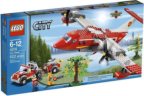 LEGO 4209 City Fire Plane