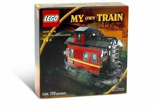 LEGO 10014 My Own Train Caboose