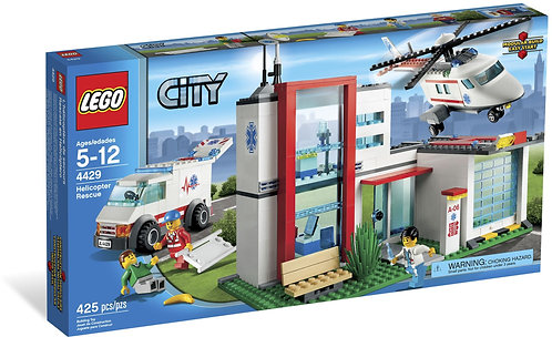 LEGO 4429 City Helicopter Rescue