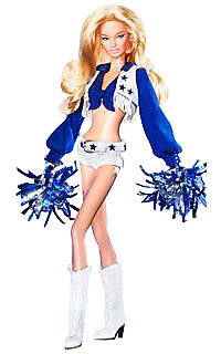 Barbie Dallas Cowboys Cheerleader