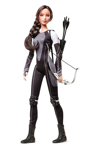 Barbie Hunger Games Catching Fire Katniss Black Label Doll