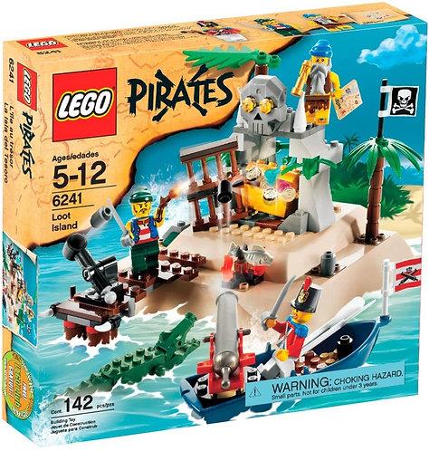 LEGO 6241 Pirates Loot Island