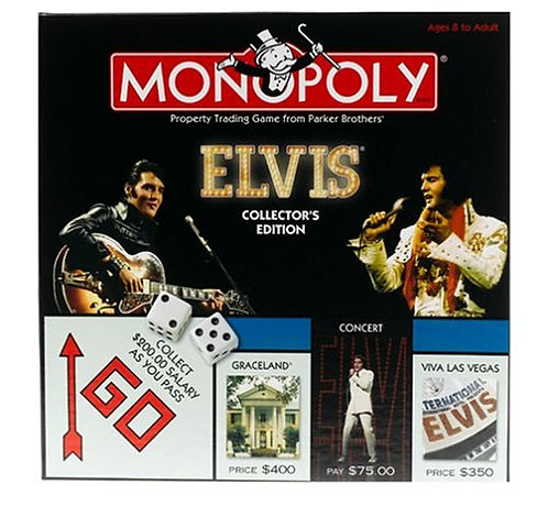 Elvis 25th Anniversary Collector's Edition Monopoly