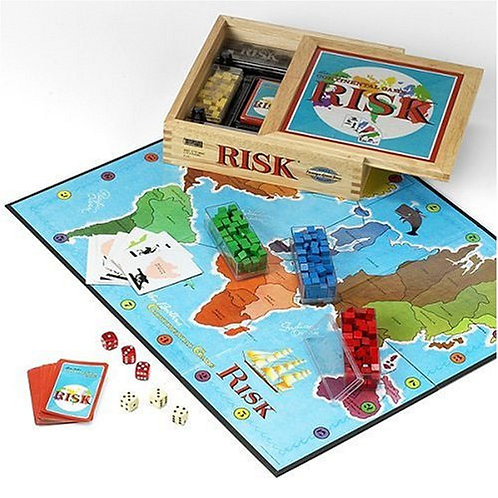 Risk Nostalgia - Wooden Box