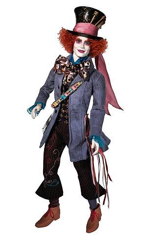 Barbie Alice in Wonderland Mad Hatter Johnny Depp Doll