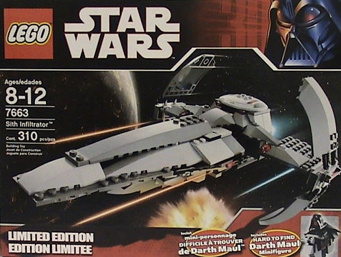 LEGO 7663 Star Wars Sith Infiltrator